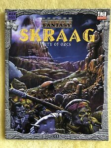 Cities of Fantasy SKRAAG City of Orcs d20 D&D by Will Upchurch NEW