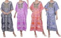 Kaftan Tunic Plus Size Beach Cover Up Maxi Dress Sleepwear Kimonos [K131 UK]