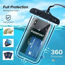 Universal Waterproof Phone case Water Proof Swim Pouch Bag Cases IPX8