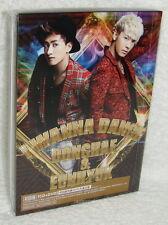 DONGHAE & EUNHYUK I WANNA DANCE 2013 Taiwan Ltd CD+DVD+Card (Super Junior)