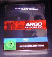 Argo Esteso Cut steelbook Limitata Edizione blu ray Spedizione più Veloce Nuovo