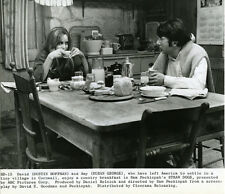 Straw Dogs Susan George Dustin Hoffman kitchen table original photo vintage