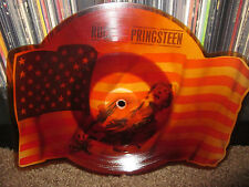 BRUCE SPRINGTEEN - IM ON FIRE SHAPED RECORD PICTURE DISC