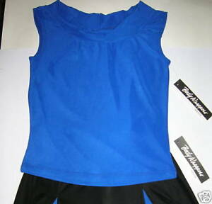 NWT Bodywrappers Ladies DANCE JAZZ TOP MOCK T NECK FULL FRONT LINED 3 COLOR