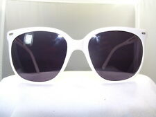 Vintage Maui Jim CAT EYE WHITE FRAME GREY POLARIZED LENSES100% UV PROTECTION c182de28a1