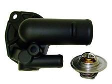 Jeep High Flow Thermostat Housing BLACK CERAMIC with 195 Degree Thermostat