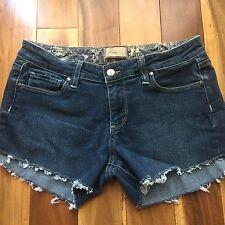 Paige Premium Denim Cut Off Shorts, Canyon Flare, size 29