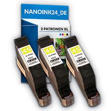 3x Tinenpatronen  für HP 45 XL DESKJET  930 930C 930CM HP45  bei Nano