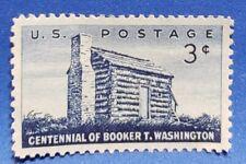 US 1956 3 Cent Single Stamp Booker T Washington Mint NH Scott # 1071