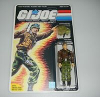 *RECARDED* 1986 GI Joe Hawk v2 Figure Complete Sealed *CUSTOM File Card Back*