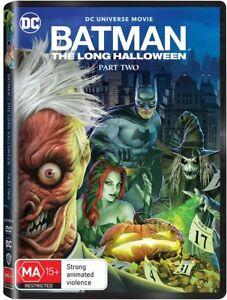BRAND NEW Batman : The Long Halloween - Part 2 (DVD, 2021) *PREORDER R4 Movie