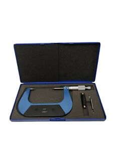 """30 Degree Point Micrometer 2-3"""" Carbide Used 600-6603N"""