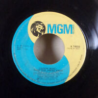 """Hank Williams Jr. The Last Love Songs / Country Music Those Tear 7"""" 45 MGM VG"""