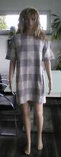 ZARA Shiftkleid Minikleid (Unterkleid) Baumwolle Beige Grösse M