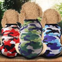 Haustier Hund Camouflage Weste Kleidung Mantel Welpen T Shirt Bekleidung  :Lieb