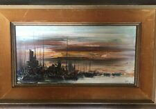 Ozz Franca Original Oil On Canvas Abstract Painting $11,250 Original Gal Price