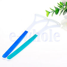 Dental Care Good Breath Cleaner Oral Tongue Clean Scraper Handle Hygiene HW