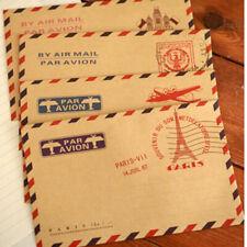 10stk Kraftpapier Mini Briefumschläge im Vintage Look PAL Hochzeit Geschenk C2J4