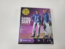 "Gold's Gym Sauna Suit L/XL Unisex Fits waist  36 - 44""  Weight Loss ( New )"