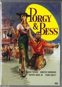 PORGY And  BESS 1959 DVD Sidney Poitier, Sammy Davis Jr  Dorothy Dandridge DVD