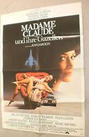 A1 Filmplakat  ,MADAME CLAUDE UND IHRE GAZELLEN,KLAUS KINSKI,BFRANCOISE FARBIAN
