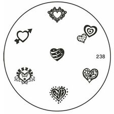 MoYou Nails Image Plate 238 Nail Art Stamping Template Manicure Stencil Plates