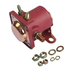 Red Solenoid Relay 12V Heavy Duty Fit For Ford Starter Car Truck Sw3 Snl135
