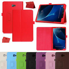 "Smart Leather Tablet Flip Case Covers For Samsung Galaxy Tab A6 10.1"" T580/T585"