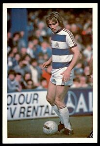 Leaf 100 Years of Soccer Stars 1988  -  Tony Currie (QPR) No. 26