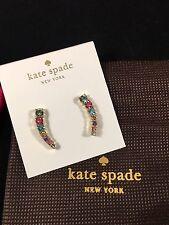 NWT Kate Spade Dainty Sparklers Multi Colorg Ear Crawlers/Ear Pins, $48