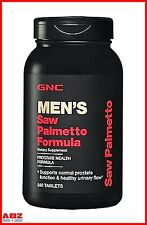 GNC Saw Palmetto Formula, 240 Tablets for Prostate Health