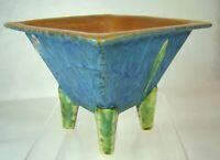 Roseville Art Pottery HARD TO FIND! Futura Hibachi Vase 198-5 Gorgeous Art-Deco