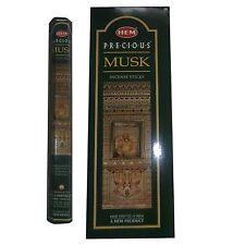 Hem Precious Musk Incense Bulk (6 x 20 Stick) Box 120 Sticks