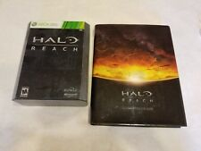 Halo: Reach -- Limited Edition (Xbox 360, 2010) + Legendary Edition Guide