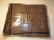 NWT Ralph Lauren Adriana Tweed Multi Euro Sham 100% Wool