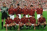 Daniele Massaro e Paolo Maldini Autografo Coa Sport Milan Mondiali 1982 Signed