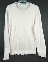 Calvin Klein Men's Medium Pink Supima Cotton Long Sleeve Shirt