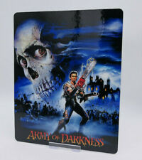 ARMY OF DARKNESS - Glossy Bluray Steelbook Magnet Cover (NOT LENTICULAR)