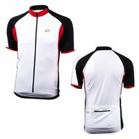 Bellwether Men's Distance Jersey-Small-White-Cycling-Full Zip-Bike Jersey
