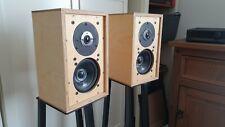 KEF CS1a bookshelf Speaker monitors LS3/5a Cabinets B110 SP1003 T27 SP1032 pair
