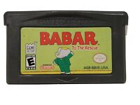 Babar To The Rescue Nintendo Gameboy Advance Gba
