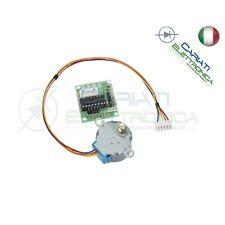 Motore passo passo con driver ULN2003A stepper shield Arduino Pic