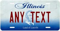 Illinois 2004 Style Any Text Personalized Novelty Auto Car License Plate Bicycle