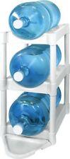 Water Bottle Storage Rack Shelves Stand Kitchen Organizer Floor 5 Gallon 3 Tier