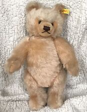 "❤STEIFF ORIGINAL TEDDY BEAR 16"" 0201/41 LG BOX IDs JOINTED HONEY VNTAGE 1982-87❤"