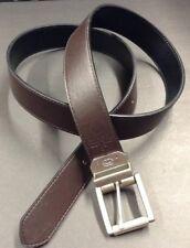 Belt Reversible Black Brown Elkouncltd  Size 42 Men Accessories
