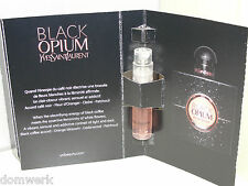 YSL Yves Saint Laurent Black Opium eau de parfum 1.2 ml Vial Sample New in Box