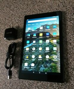 Amazon Fire HD 10 SL056ZE 32GB, Wi-Fi, 10.1 inch - Red Pre-Owned Good Condidion