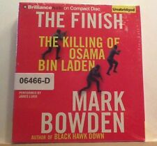 NEW *Sealed* AUDIO BOOK on CDs THE FINISH Killing of Osama Bin Laden Mark Bowden