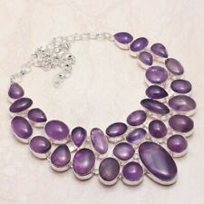 Awesome Amethyst Handmade Big Necklace 142 Gms LBN-744